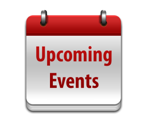 Upcoming events, happening