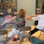 #Chair Yoga, #Yoga