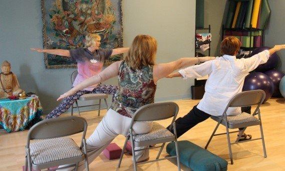Chair Yoga, Yoga,