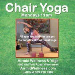 #Chair Yoga