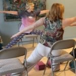 Chair Yoga, Senior Yoga,Restorative, Savasana, energy