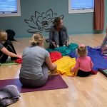 Juli Eckmeier, Kids Yoga, Chair Yoga, Airmid Wellness, Family Yoga, Yoga