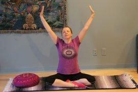 yoga, Gentle Yoga, Airmid Wellness, relax,Yoga class, Mindful