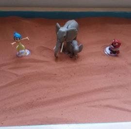 #Sand Tray therapy, #Counseling for children