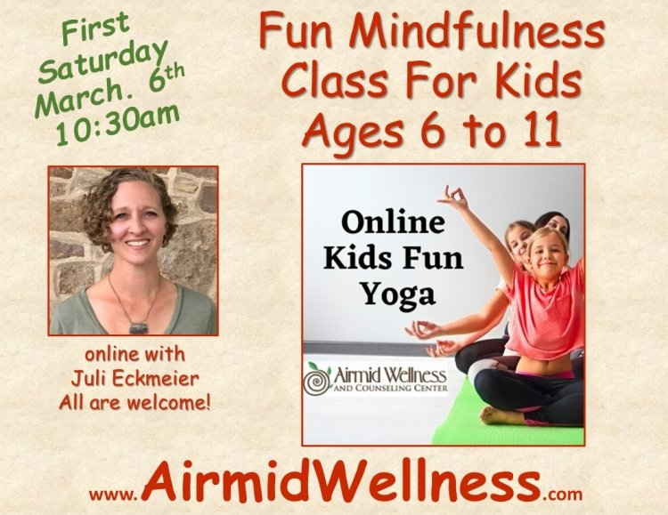 Kids Yoga, Fun Kids, Mindful kids