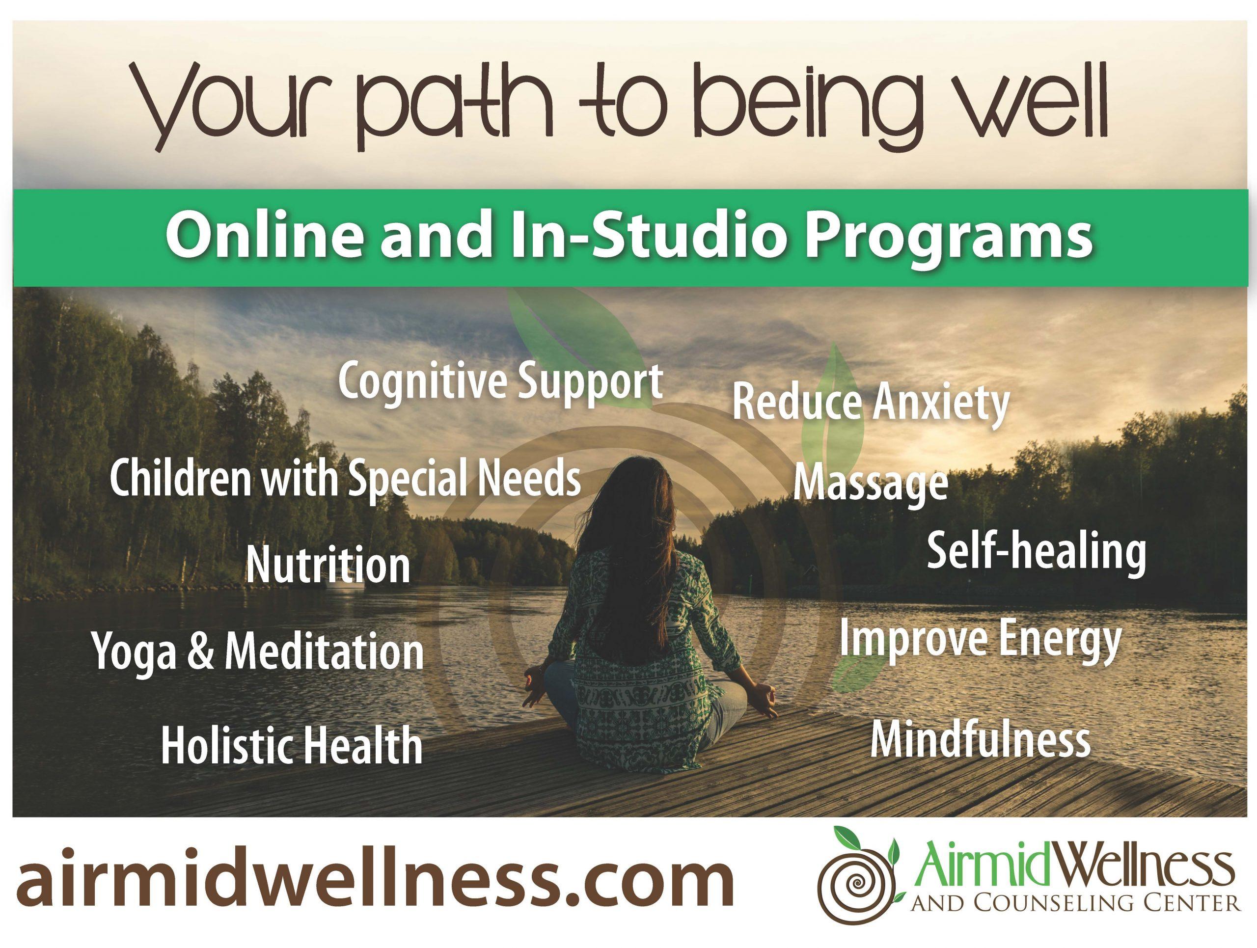 #airmid Wellness #Workshops